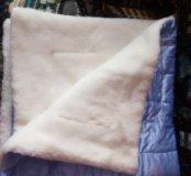 Теплое одеялко-Конверт для новорожденного