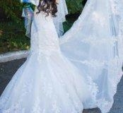 Свадебное платье б/у.Возможен прокат.