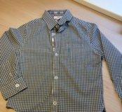 Рубашка BOSS, 6лет/114, состояние идеальное