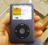 Apple iPod classic (160 gb) gray