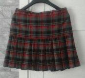 юбка -шотландка