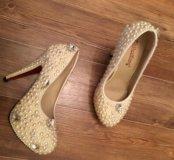 Туфли новые свадебные