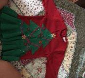 Платье детское трикотаж