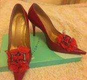 Туфли кожаные женские 36 р-р