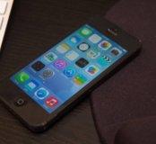 iPhone 5 16gb black оригинал