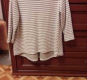 Блуза туничка трикотажная