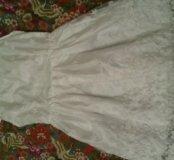 Платье с цветочным нежным принтом