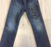 Утеплённые джинсы 👖 рост 116