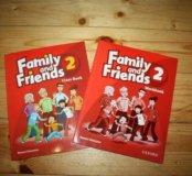 Family and Friends 2 с диском новые