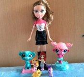 Кукла со зверьками
