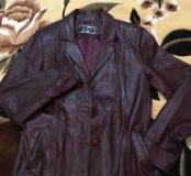 Продаю кожаную куртку xxl