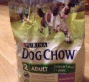 Сухой корм Dog Chow с ягнёнком (2,5кг)