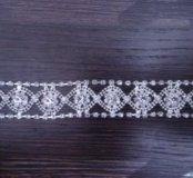 Свадебный набор (серьги, браслет, корона)