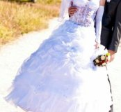 Свадебное платье бу в аренду или продам