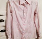 Рубашечка цвета нежного зефира