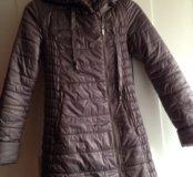 Демисезонное пальто для беременных.