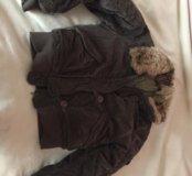 Фирменная куртка мехх