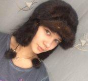 новая женская шапка