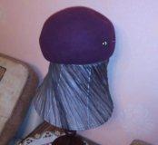 Головной убор,фетровая беретка-шляпка