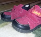 "Ботиночки ""зебра"""