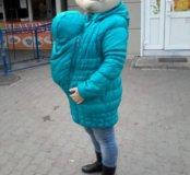 Куртка до и после родов