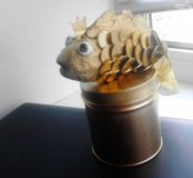 Копилка золотая рыбка.