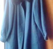 Женское зимн. пальто100%шерсти70-72разм150-165смР