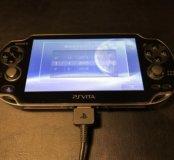 PS Vita 16Gb 3G + 6 игр на картах