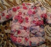 Куртка на девочку 3-4года