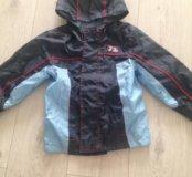 Практически новая !Куртка для мальчика, р110