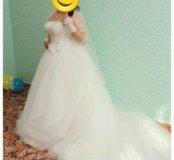 Срочно!!! Шикарное свадебное платье