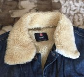 Джинсовая куртка на меху