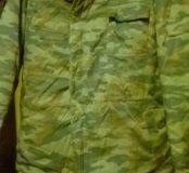 Новый зимний камуфляж костюм с подстежкой.