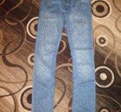 Новые леопардовые джинсы