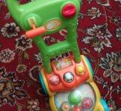 Каталка-игрушка Playgo Забавная газонокосилка