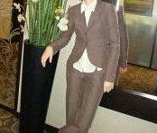 Брючный стильный костюм бренд Остин