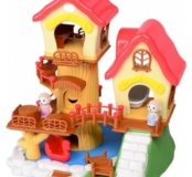 Домики на дереве Happy family 012-08  Новый