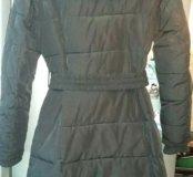 Пальто (пуховик) зимнее