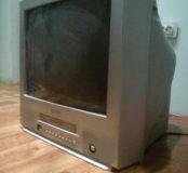 Моноблок (телевизор +видеомагнитофон)