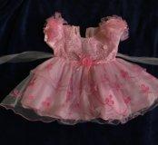 Нарядное платье принцессы 1-2г
