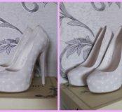 Свадебные туфли. 35-36р-р.