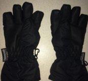 Перчатки детские мальч новые осень зима 4-6лет