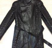 Кожаная куртка (тренч, пальто)