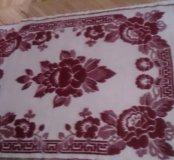 Красное одеяло