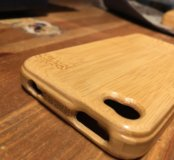 Бамбуковый чехол Iphone4/4s
