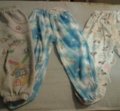 Детские штанишки на рост до 70см.