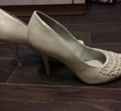 Красивые свадебные туфельки