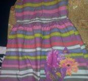 Детские платья 2 штуки