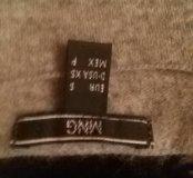 Тонкий укороченный свитер