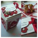 Открытки и поздравительные коробочки